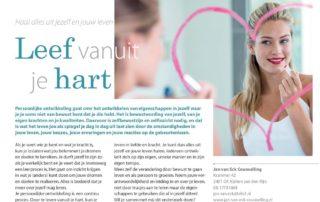 201603 Leef Vanuit Je Hart Relatietherapeut Jan Van Eck