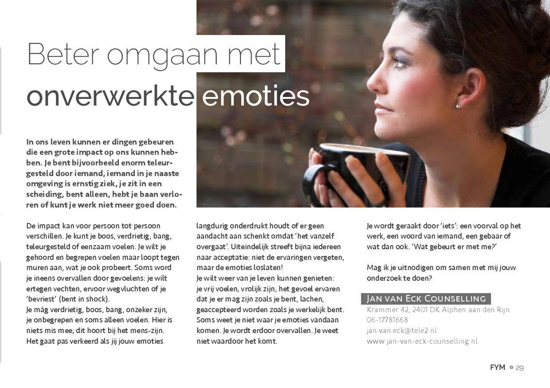 201604 Omgaan Met Onverwerkte Emoties Artikel Relatietherapeut