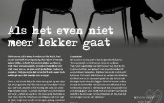 201701 Als Het Even Niet Meer Lekker Gaat Relatietherapeut Jan Van Eck