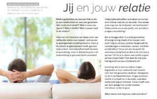 201701 Jij En Jouw Relatie Artikel Relatietherapeut Jan Van Eck