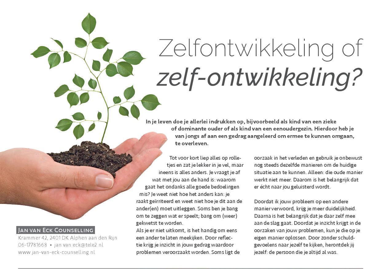 201702 Zelfontwikkeling Relatietherapeut Jan Van Eck