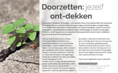 201703 Doorzetten Artikel Relatietherapeut Jan Van Eck Page