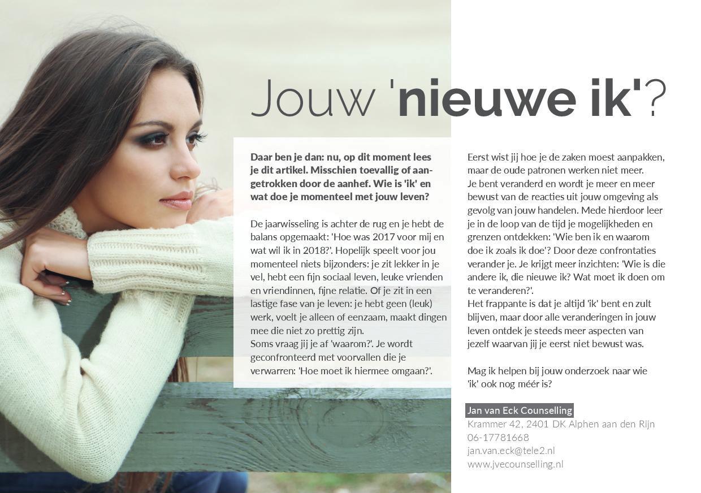 20174 Jouw Nieuwe Ik Relatietherapeut Jan Van Eck